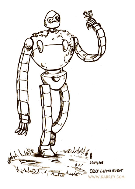 Robot Guard from Laputa Castle in the Sky