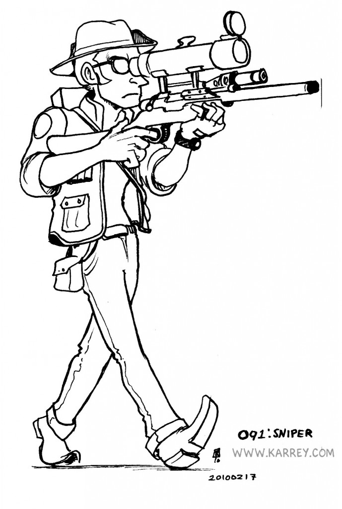 Sniper from Team Fortress 2