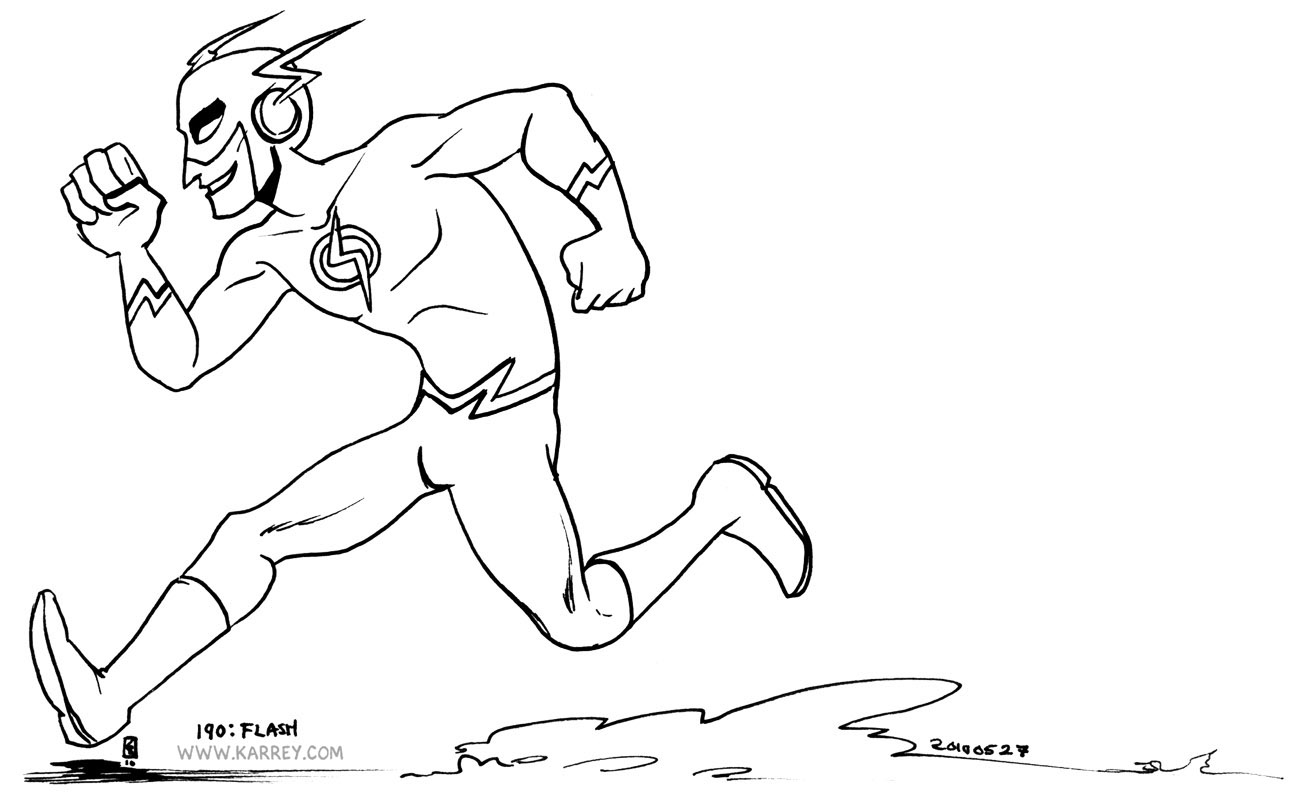 lego flash coloring pages - photo #24