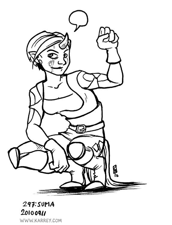 Suma - Brianne Goetz character