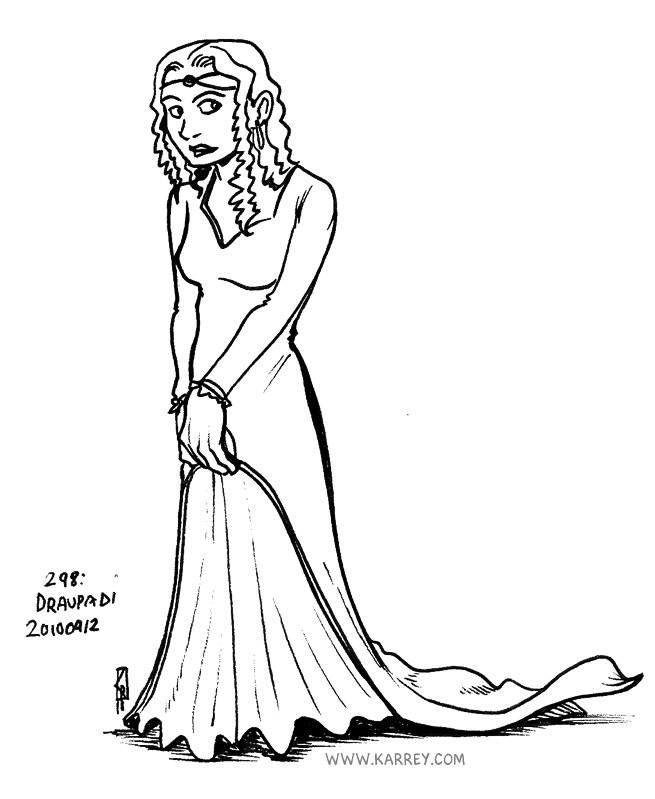 Draupadi - Gaia Gandolfo's character
