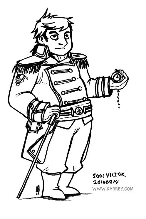 Victor - Lauren Mann's character