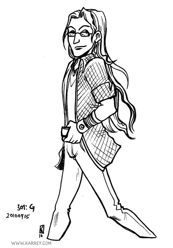 G - Jenny Lundin's character