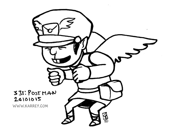 Postman from Zelda Phantom Hourglass