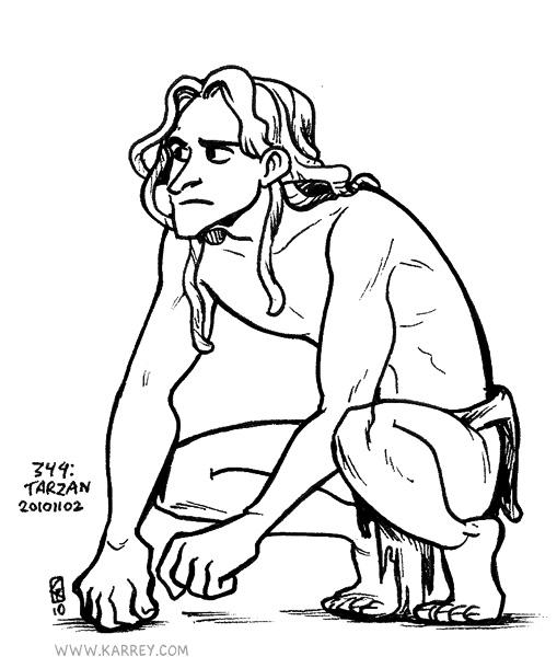 Tarzan from Disney Tarzan