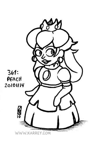 Peach from Super Mario RPG
