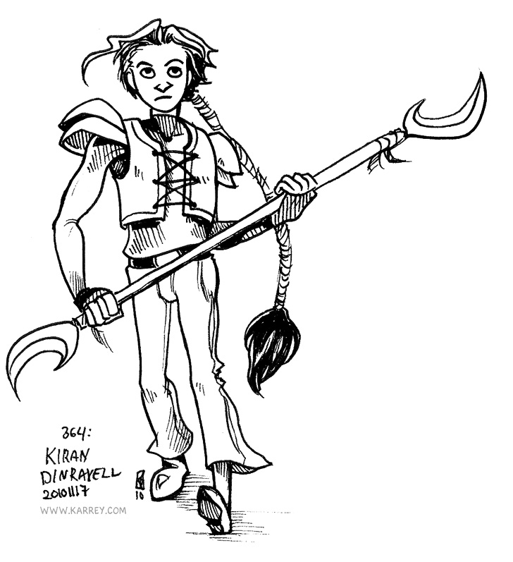 Kiran Dinravell - Original Character